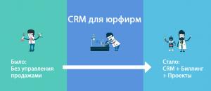 CRM для юрфирм